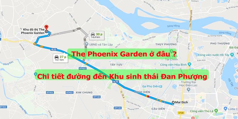 Địa chỉ khu sinh thái Đan Phượng The Phoenix Garden
