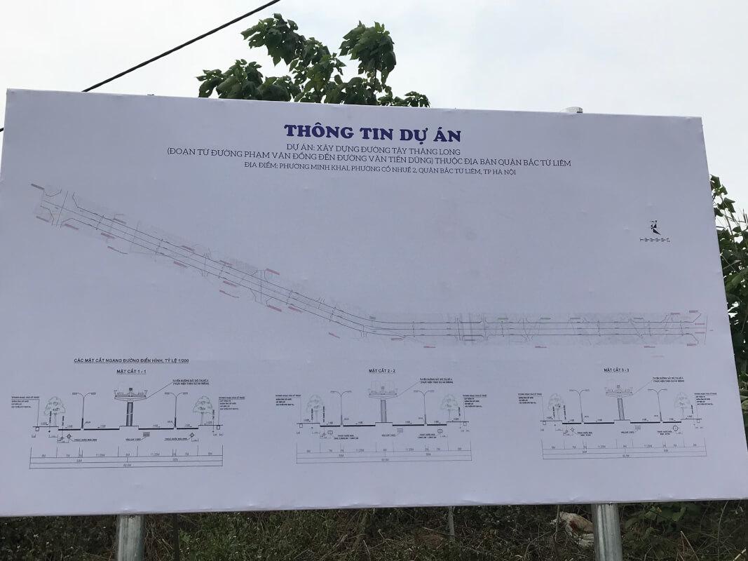 Chi tiết tuyến đường Tây Thăng Long năm 2019 cận cảnh có video